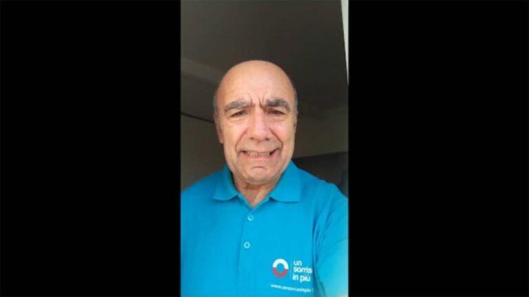 Cesare volontario di Un Sorriso in Più