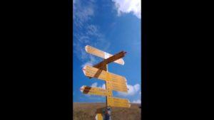 cartelli indicazione sentieri