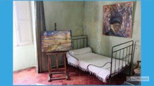 Camera da letto Van Gogh Monastero Saint Paul de Mausole Saint Remy de Provence Francia