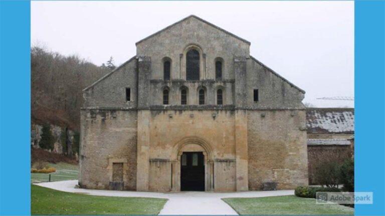 Abbazia di Fontenay Borgogna Francia