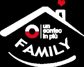 logo Un Sorriso in Più Family bianco