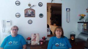 Anna e Marina volontarie di Un Sorriso in Più